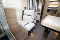 Mobilvetta-Kea-P90-Dinette-in-conformazione-viaggio