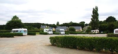 St.Thégonnec, l'area gratuita