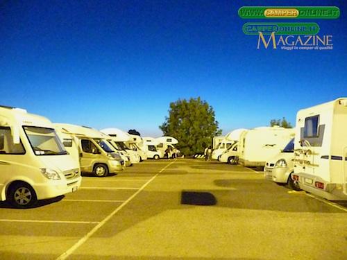 I parcheggi di Parma Fiere già gremiti il venerdi sera