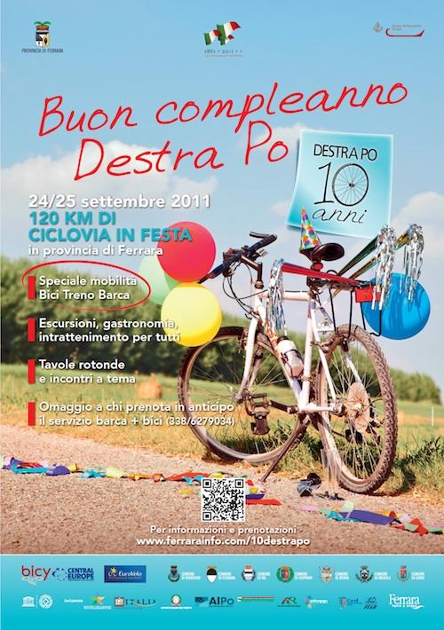 120 km di ciclovia in festa il 24-25 Settembre 2011