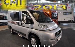 Speciale CMT Stoccarda 2013 – Adria presenta il nuovo Twin S Titanium