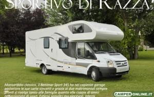 CamperOnTest: Benimar Sport 345