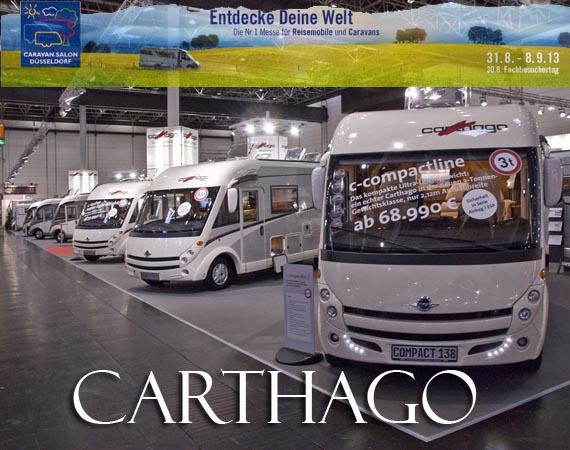 Le novità di Carthago al Caravn Salon 2013