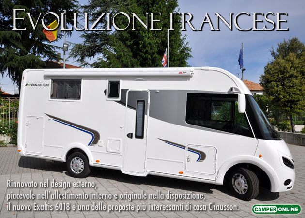 CamperOnTest - Chausson Exaltis 6018