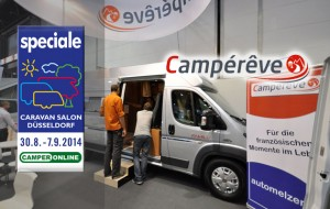 Speciale Caravan Salon 2014 – Campérêve e il van per famiglie