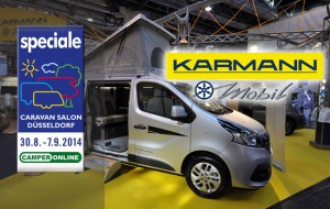 Speciale Caravan Salon 2014 – Karmann Colibrì porta al debutto il nuovo Renault Trafic