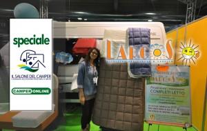 Speciale Salone del Camper 2014 – Da Larcos i nuovi e pratici Completi Letto e Copri-Clima