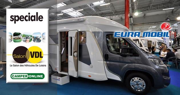 Salon des Véhicules de Loisirs 2014 – Profila Mondial, l'EuraMobil con tutto di serie