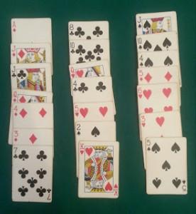 gioco dei tre mazzetti
