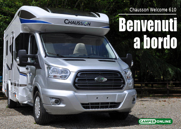 CamperOnFocus: Chausson Welcome 610