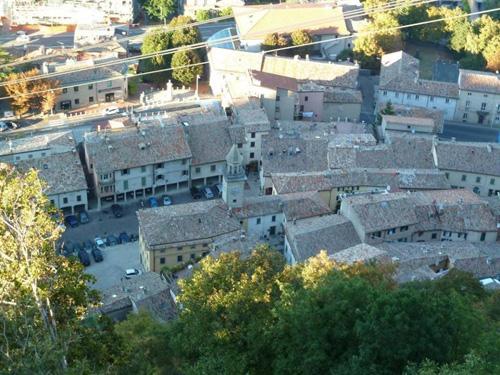 Borgo Maggiore dall'alto