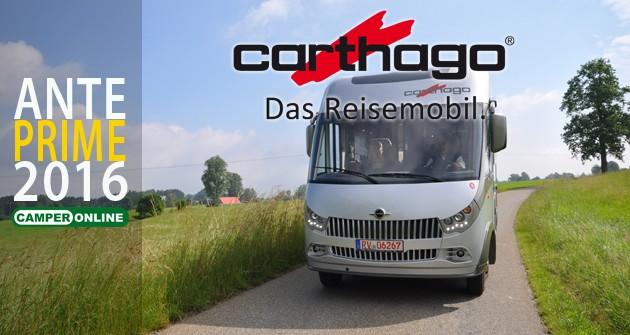 Carthago, è tempo di restyling per i motorhome Chic E-Line, Chic S-Plus e C-Tourer I