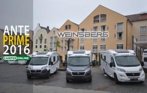 Weinsberg, una crescita continua in ogni campo