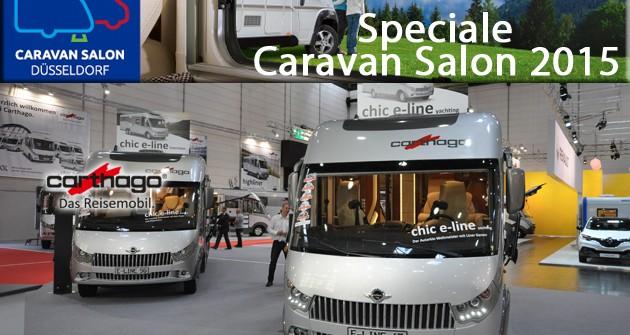 Speciale Caravan Salon 2015: Carthago, il debutto del nuovo C-Tourer Sport I 144 e delle rinnovate serie Chic E-Line e S-Plus