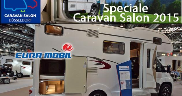 Speciale Caravan Salon 2015: 7 posti letto in 649 cm di lunghezza per l'EuraMobil Activa One 650 VB