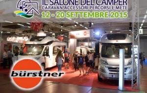 Salone dal Camper 2015: Bürstner