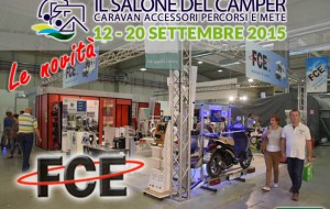 """Le novità del Salone del Camper 2015: """"Pratico"""" da FCE"""