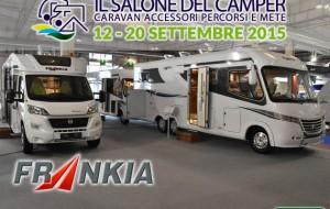 Salone del Camper 2015: Frankia
