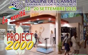 Le novità del Salone del Camper 2015: Project 2000