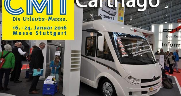 CMT 2016: Carthago, ecco il nuovo C-Tourer 144LE, il nuovo mobilio Epic e il C-Line 4.9 Edition