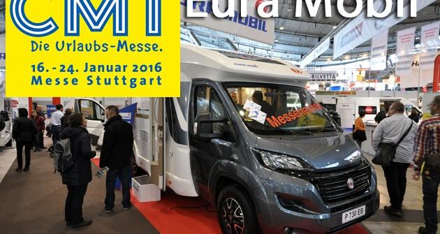 CMT 2016: Eura Mobil, ecco il nuovo Profila 730 EB