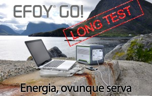 EFOY GO!: autonomia ed energia portatile in prova sul campo
