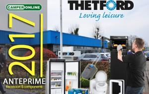 Novità 2017: Thetford, la rivoluzione delle componenti