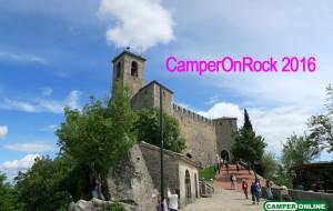 Camper On Rock