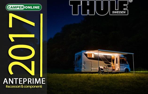 Anteprime 2017: Thule, comfort e praticità con le nuove collezioni di tendalini, portabici e accessori