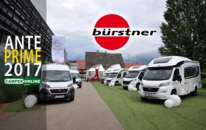 Anteprime 2017: Bürstner