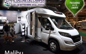 Salone del Camper 2016 – Malibu, debutto in Italia con van Charming, motorhome e profilati con basculante