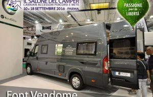 Salone del Camper 2016 – Font Vendome, ecco l'Horizon H501