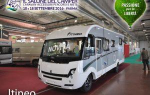 Salone del Camper 2016 – Itineo, il nuovo MC 740 per i primi 10 anni