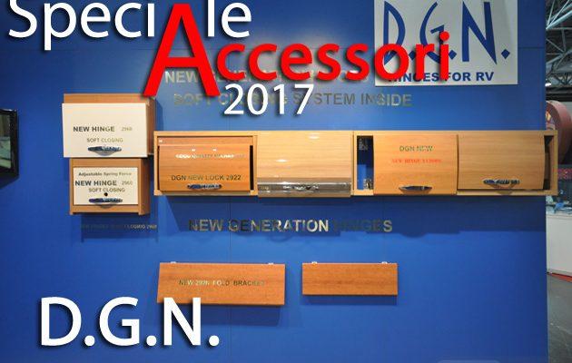 Speciale Accessori 2017 – D.G.N., con le nuove cerniere 2960 massima precisione, rientro soft-close e minimo ingombro