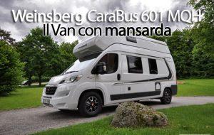 CamperOnFocus: Weinsberg CaraBus 601 MQH