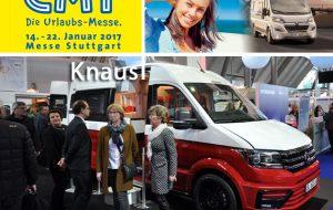 Speciale CMT 2017: Knaus, l'esordio del nuovo VW Crafter con gli accattivanti van Saint&Sinner