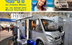 Speciale CMT 2017: Hymer, la festa per i 60 anni è ricca di novità