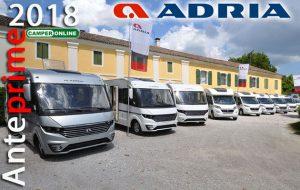 Anteprime 2018: Adria, il ritorno del Coral profilato