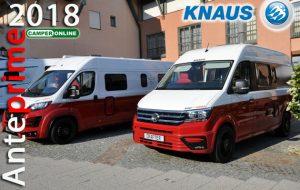 Anteprime 2018: Knaus, importanti novità in tutte le tipologie e 10 anni di garanzia