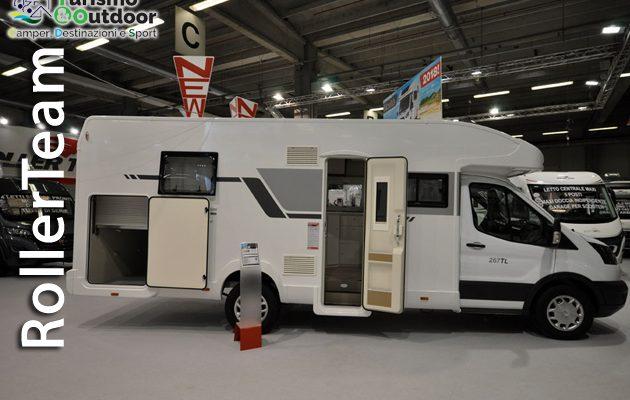 RollerTeam, letto centrale e living trasversale per il nuovo AutoRoller 267 TL Special Edition