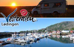 In camper alle Isole Vesterålen: Lødingen, un approdo sicuro, un fiordo da scoprire