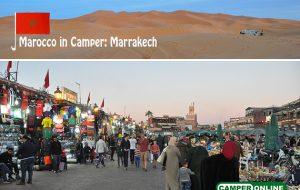 Marocco in Camper: Marrakech
