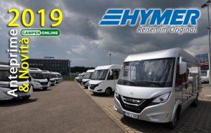 Hymer, il 2019 è sotto il segno del nuovo Mercedes-Benz Sprinter e dei B-Klasse Modern Comfort