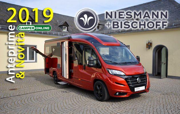 Niesmann+Bischoff, nuovi modelli, nuovi colori e nuovi interni per la collezione 2019