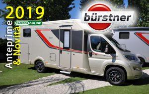 Bürstner,  Ixeo T, Lyseo Privilège TD e CityCar Harmony line protagonisti della nuova collezione 2019