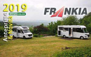 Frankia, nuovo Sprinter e motorhome F-Line e Titan vestiti a nuovo