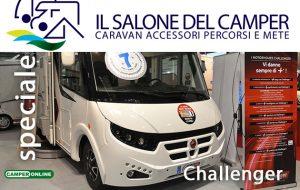 Challenger, debutto italiano per il motorhome Sirius 2077 GA