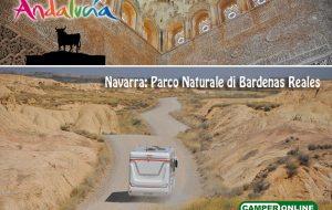 Andalusia in Camper: Navarra, Parco Naturale di Bardenas Reales