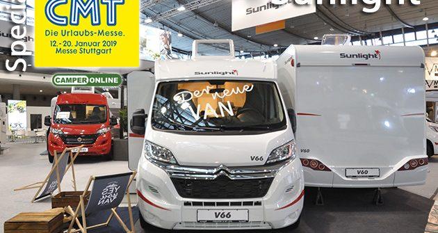 Speciale CMT 2019: Sunlight, arriva la nuova gamma Van