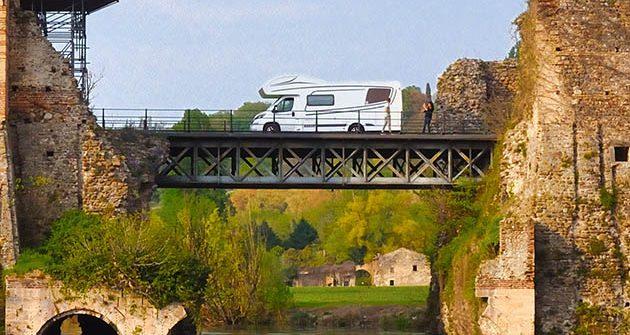 CamperOnRide: a sud del Lago di Garda con l'Etrusco 7300 DB